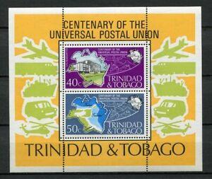 23457) TRINIDAD & TOBAGO 1974 MNH** UPU 2v