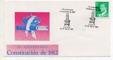 España 175 Aniversario Constitución de 1812 Cadiz año 1987 (DY-251)