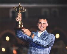 """New listing MARTIN KAYMER - GOLF - 2010 RYDER CUP - ORIGINAL SIGNED 12x8"""" PHOTO - WITH LOA"""