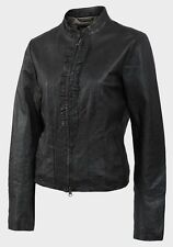 Women's Leather Cropped Coats & Jackets