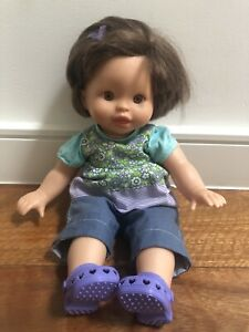 Fisher Price Doll including Removable Clothes And Shoes - Great Condition