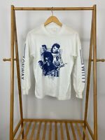 VTG 80s Conway Twitty Long Sleeve Promo Tour 50/50 Long Sleeve T-Shirt Size M