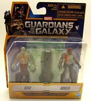 """Marvel Guardians of the Galaxy - 2.5"""" Action Figures (2 pack) Drax & Korath New"""
