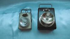 lampe de poche vintage lot de 2