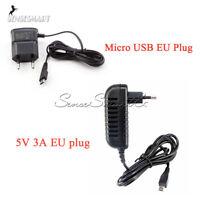 EU Plug Micro USB Power Adapter Supply Raspberry pi Charger Converter 5V 0.7A/3A