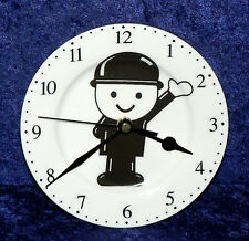 Fred wall clock porcelain wall clock withHomepride Fred character- gift  boxed