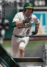 2016 Topps Update Jed Lowrie US61 Black #'ed 16/65