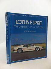 AUTO HISTORY LOTUS ESPRIT MID-ENGINED S1/S2/S2.2/S3 & TURBO, JEREMY WALTON NEW!