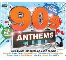 90s Anthems 5-CD Box Set NEW SEALED Hole/Orb/Shamen/Aswad/Madness/James/La's/OMC