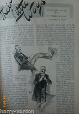 Victorian Members of Parliament MPs Peculiarities Old Illustrated Article 1899