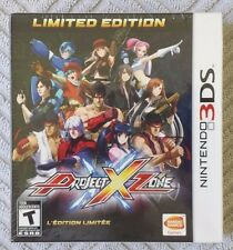 Project X Zone Limited Edition (Nintendo 3DS) Brand New, Sealed. Free Shipping!