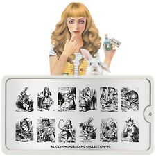 Moyou-London Nail Art Image Stamping Plate Collection Alice 10