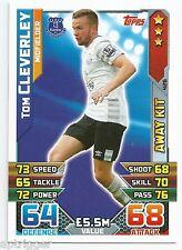 2015 / 2016 EPL Match Attax Away Kit (426) Tom CLEVERLEY Everton