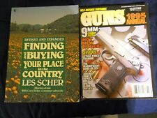 Book: Finding and Buying Your Place in the Coutry (isbn: 0020084005) + Guns mag.
