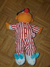 "Tyco 1996 Sing and Snore Ernie Talking Plush 18"" Toy Sesame Street Jim Henson"