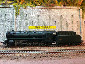 MÄRKLIN 3046 HO - Locomotive lourde type 150 X 29 ep III SNCF dépôt de Audun