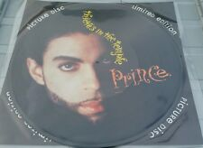 """Prince - Thieves in The Temple 12"""" Picture Disc Vinyl Record 1990s Pop Rock"""