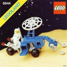 NEW Lego Classic Space 6844 Seismologic Vehicle (Sismobile) LEGOLAND 1983'