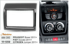 Car Radio fascia Facia Panel Adapter for PEUGEOT Boxer FIAT Ducato CITROEN Jumpe