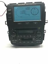 02-03 Acura MDX AM FM CASS 6-Disc CD info Radio 39100-SEV-A330 M1 OEM