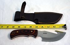 """Muela Grizzly Knife 12R 9 1/8"""" overall 4 5/8"""" stainless guthook blade(bte#95)"""