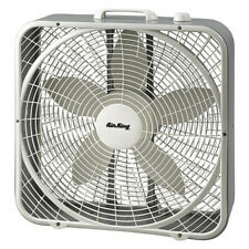 """AIR KING 9723 20"""" Box Fan, Non-Oscillating, 3 Speeds, 120VAC, Carrying Handle"""