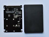 """mSATA to 2.5"""" 44PIN PATA/IDE SSD HDD mSATA to PATA Converter Adapter Card -UK"""