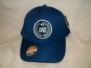 Dad Gift.  Beautiful Embroidered Hat.  #1 Dad