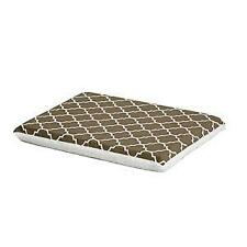 Midwest Pets Brown Fleece Top Teflon Fabric Crate Pad 24""