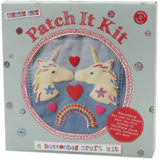 Buttonbag Patch It Sewing Craft Kit for Kids