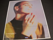 SINEAD O'CONNOR intense looking vintage PROMO POSTER AD