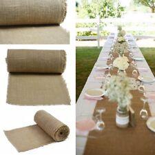 Jute natur  Tischläufer Tischband 50cm breit rolle 5m 10m 15m 25m 30m 40m 50m