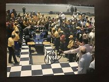 Roger Penske Signed Indianapolis 500 Legend 8 X 10 1972 First Indy Win