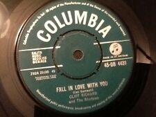 CLIFF RICHARD AND THE SHADOWS . FALL IN LOVE WITH YOU . 1960