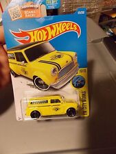 2016 Hot Wheels 67 Austin Mini van yellow hw city works 10/10 175/250