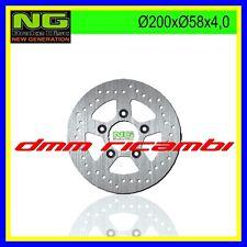 Disco freno posteriore NG 135 KYMCO 125 150 250 Bet & Win Grand Dink Classic Yup
