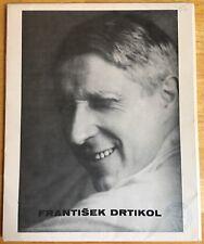 FRANTISEK DRTIKOL Portfolio of 12 Photographs Pressfoto