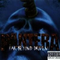 "PANTERA ""FAR BEYOND DRIVEN"" CD NEUWARE"