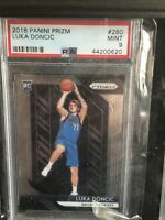 LUKA DONCIC 2018 PANINI PRIZM🔥 #280 ROOKIE RC MINT PSA 9 MAVERICKS