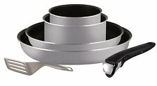 Set of Frying Pans and Saucepans suitable for all Heat Sources Except Induction