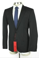 NWT HUGO BOSS RED LABEL Henry Griffin Black Grey-Check Wool Suit 40 R Slim Fit