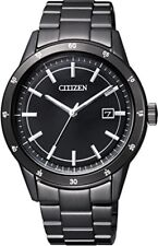 CITIZEN Collection Eco-Drive men's watch AW1165-51E Metal Face Black from Japan