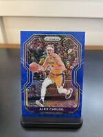 2020 Panini Prizm ALEX CARUSO Blue Shimmer #14/35 FOTL Exclusive SSP Lakers