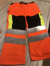 New boxed Stihl MS Protect trousers Hivis design A class1 size L cut protection