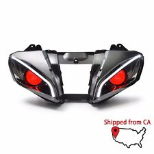 New Style LED Demon Eye HID Projector Headlight Assembly for Yamaha YZF R6 06-07