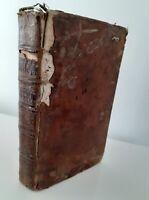 1745 Las Elemens HISTORIA Abbe De Vallemont De G. Martin París