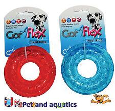 Gor Mascotas perro de juguete, Gor Flex tratar Flotante Anillo 10cm GF25