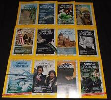 National Geographic lot 1965 Complete Year!  12 isssues!