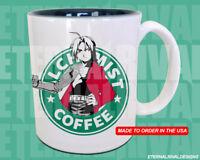 Edward Elric Fullmetal Alchemist Starbucks Anime Manga Japanese Insipred Mug