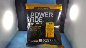 Powerade Powder Drink Mix, 5 gallon pouch bag Tropical Mango Best BUY 08/2020